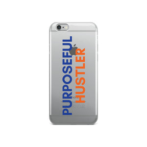 Purposeful Hustler - iPhone Case