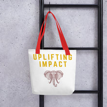 Load image into Gallery viewer, Uplifting Impact Tote bag