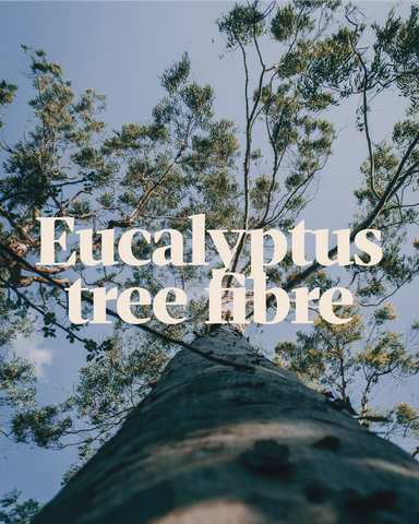 Our Tencel® Yarn is made from fibres sustainably harvested from eucalyptus trees, using renewable energy. It's soft, silky and smooth vegan and uses no nasty chemicals either.