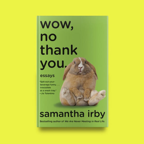 An essay collection from Samantha Irby about ageing, marriage, settling down with step-children in white, small-town America.