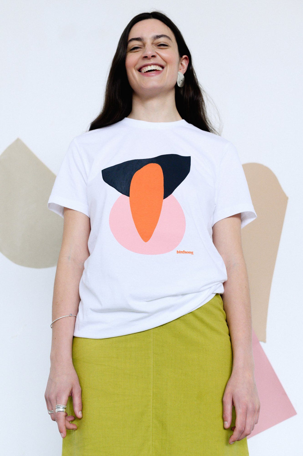 Unisex Abstract Print Tee CLOTHING BIRDSONG