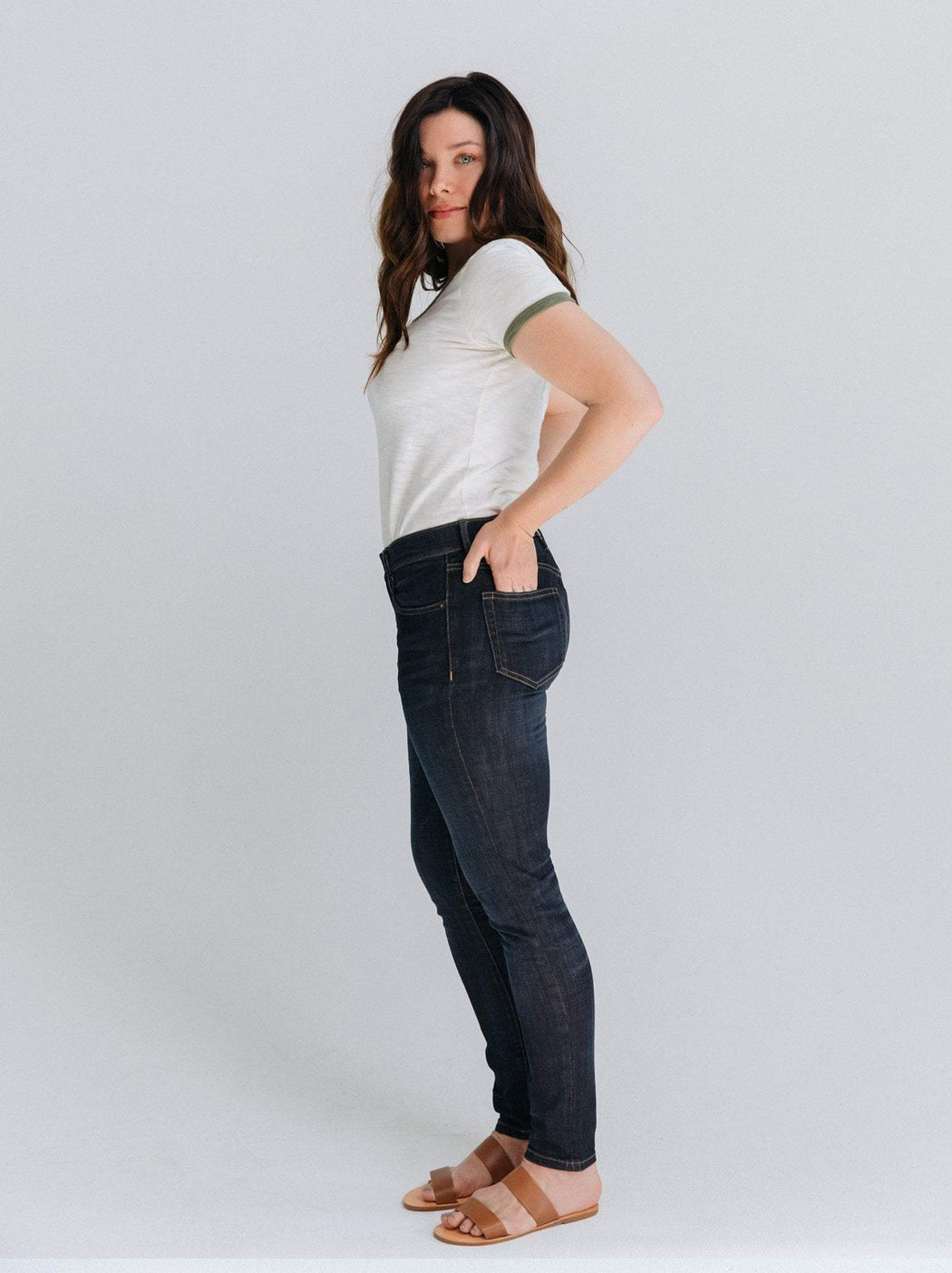 The Anya Slim Fit Jean by Able