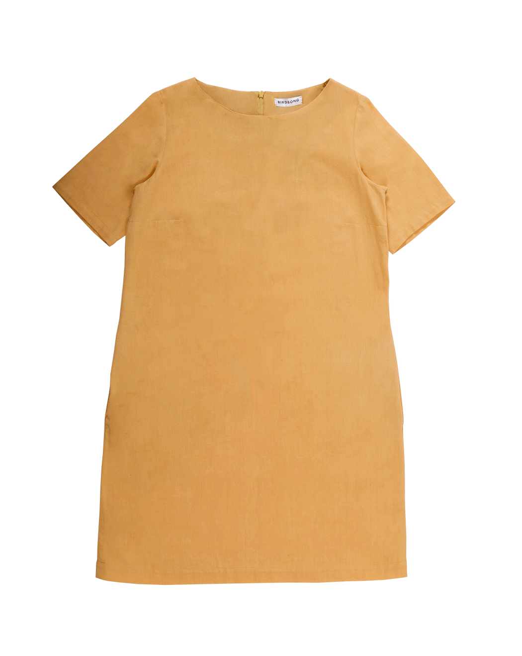 Yellow T-shirt Dress