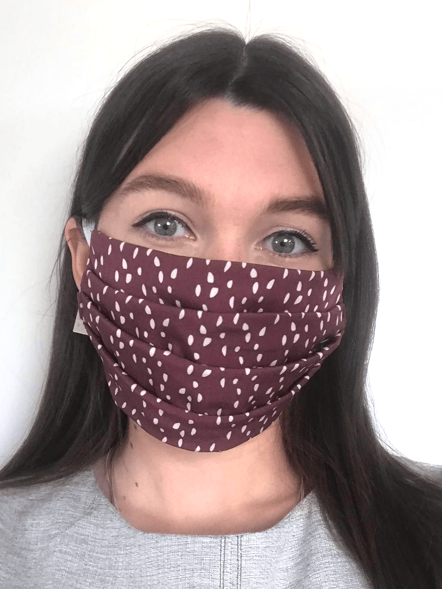 Living Wage Face Masks in Tencel Birdsong