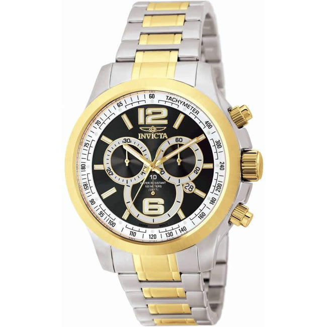 Invicta 0080 Men's Specialty Two-Tone Stainless Steel Chronograph Watch