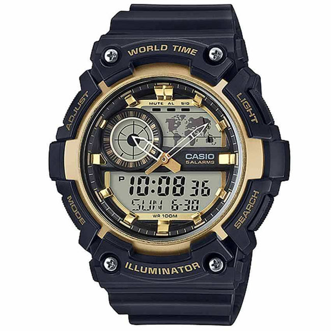 Casio AEQ200W-9AV Men's Analog and Digital Quartz Watch