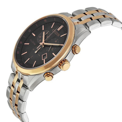 Citizen AT2146-59E Men's Eco-Drive Chronograph two-Tone SS Watch