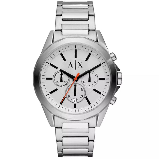 Armani Exchange AX2624 Men's Drexler Chronograph Link Bracelet Watch
