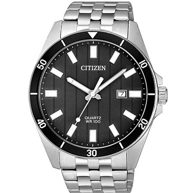 Citizen BI5050-54E Men's Stainless Steel Quartz Watch