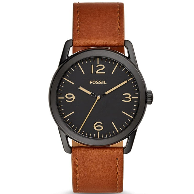 Fossil BQ2305 Men's Ledger Brown Leather Watch