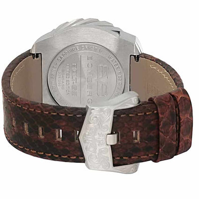 Bomberg BS45ASS.043-2.3 Men's Cobra Steel Swiss Automatic Limited Edition