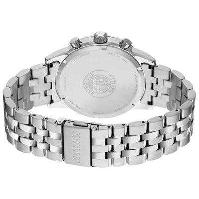 Citizen CA7000-55E Men's Chronograph Date Silver Bracelet Watch