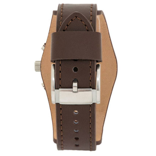 Fossil CH2891 Men's Coachman Chronograph Brown Leather Watch
