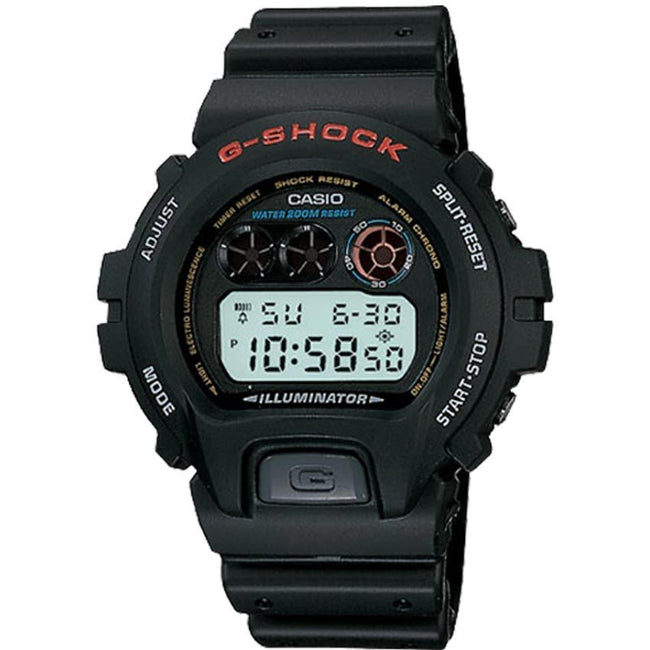 CASIO DW6900-1V MEN'S BLACK STRAP G-SHOCK WATCH