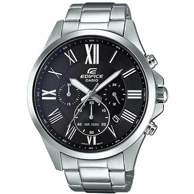 Casio Gents EFV-500D-1AVUDF Edifice Stainless Steel Chronograph Watch