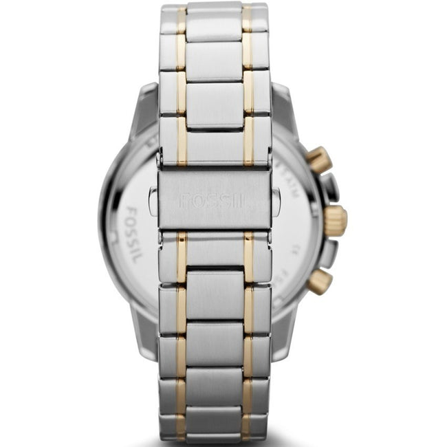 Fossil FS4795 Men's Dean Chronograph Two-Tone Stainless Steel Watch