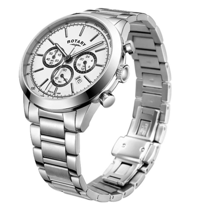 Rotary GB05253/02 Men's Cambridge Stainless Steel Watch
