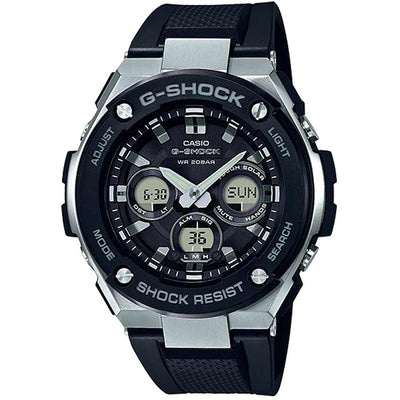 Casio Gent's GST-S300-1ADR G-Shock Solar Analog-Digital Resin Watch