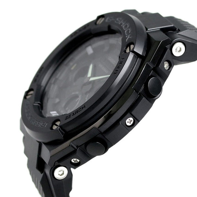 CASIO GST-S300G-1A1DR GENTS G-SHOCK ANALOG DIGITAL SOLAR BLACK RESIN WATCH