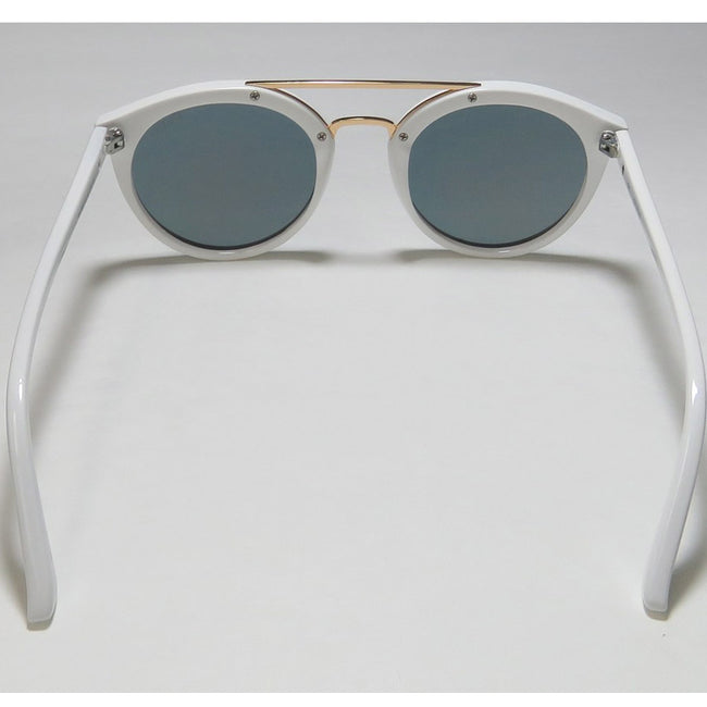 Guess 7387 21C Women's Injected White/Gold Frame Sunglasses