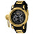 Invicta 11339 Men's Russian Diver Yellow Gold Case Camouflage Dial Large Watch