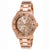 Invicta 21684 Women's Angel Quartz Chronograph Rose Gold Dial Watch