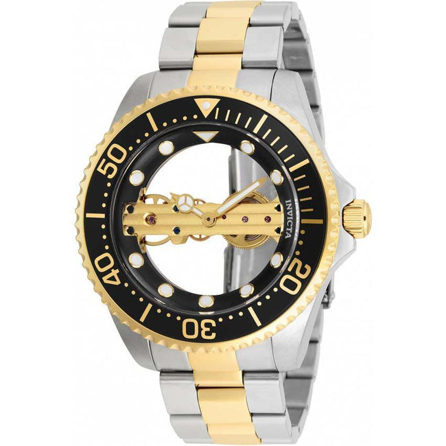 Invicta 26479 Men's Pro Diver Mechanical 2 Hand Black Dial Watch