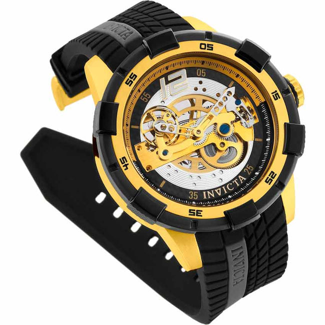 Invicta 26620 Men's S1 Rally Automatic Skeleton Dial Silicone XL Watch