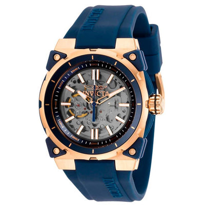 Invicta 27338 Men's S1 Rally Automatic Transparent Dial Blue Silicone Watch
