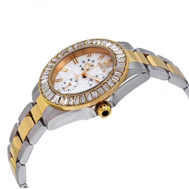 Invicta 28451 Women's Angel Quartz 3 Hand White Dial Watch
