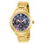 Invicta Women's 28735 Angel Quartz Oyster Brown Dial Gold Watch
