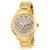 Invicta Women's 28736 Angel Quartz Oyster Brown Dial Gold Watch