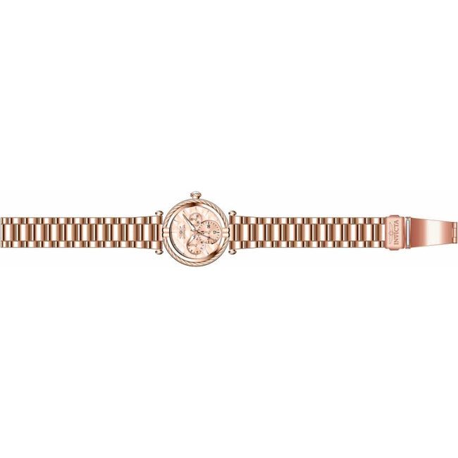 Invicta 28961 Women's Bolt Quartz 3 Hand Rose Gold Dial Watch