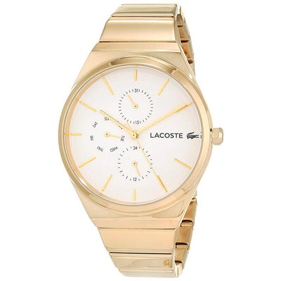 Lacoste 2001037 Women's BALI Multi-function Yellow Gold Bracelet Watch