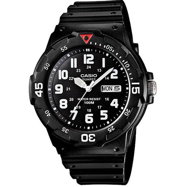 Casio MRW200H-1BV Men's Black Resin Dive Watch
