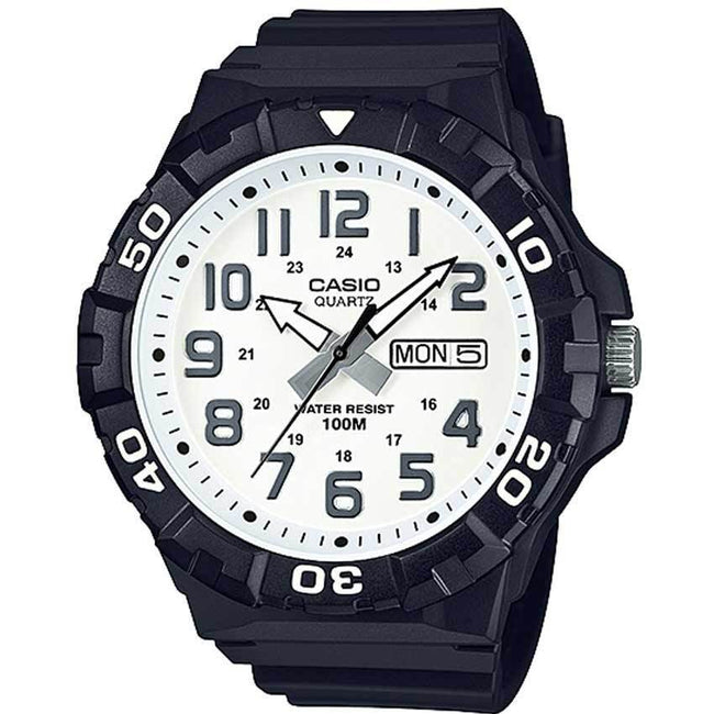 Casio MRW210H-7AV Men's White Dail Analog Watch