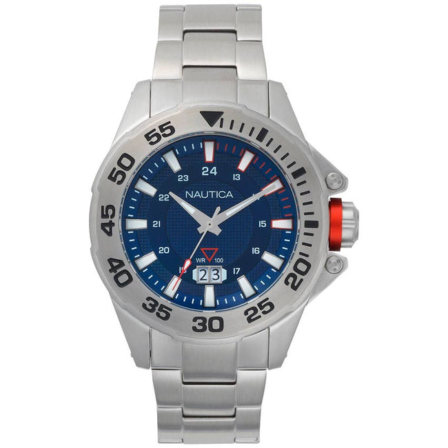 Nautica NAPWSV003 Men's Westview Stainless Steel Bracelet Watch