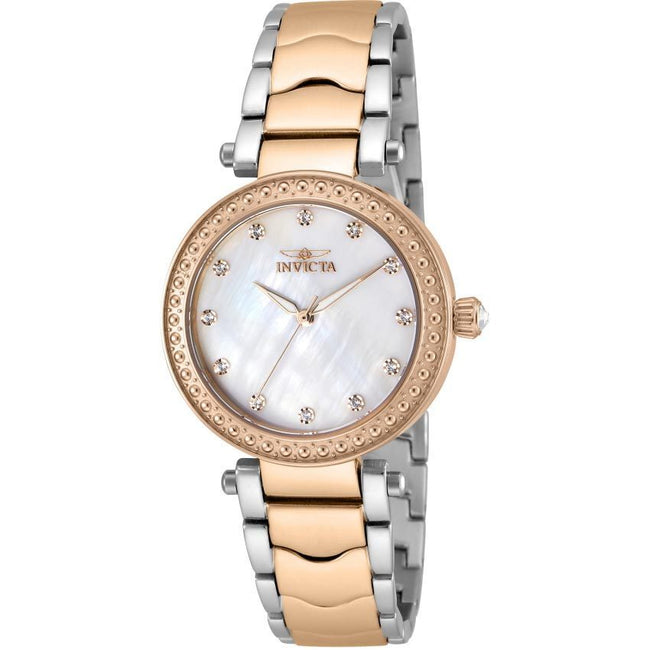 Invicta 23966 Women's Wildflower Quartz 3 Hand White Dial Watch