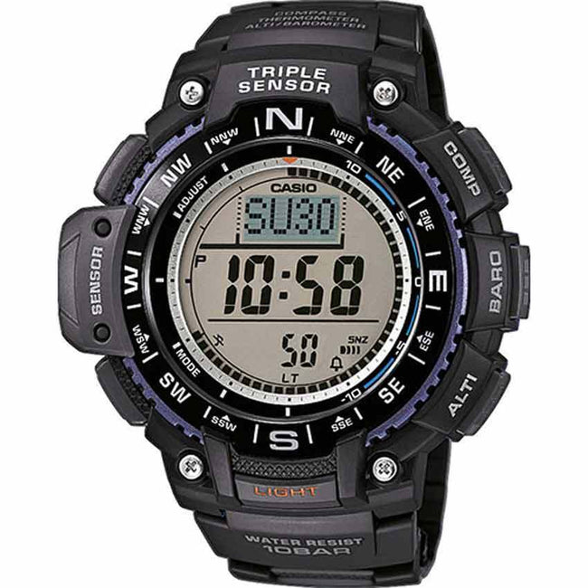 Casio SGW1000-1A Men's Triple Sensor Compass XL Watch
