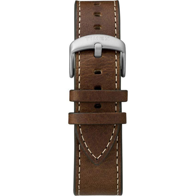 Timex T2R642 Men's Mod 44 Brown Leather Dress Watch