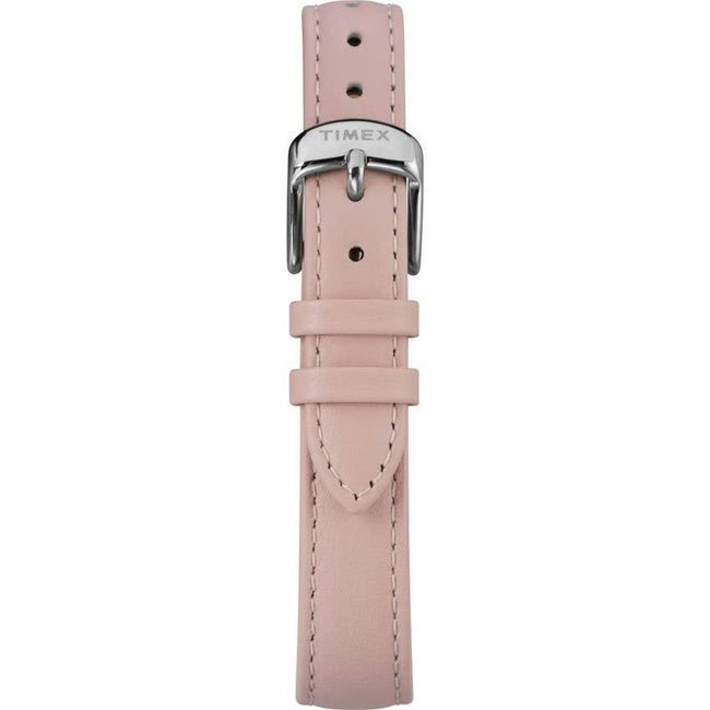 Timex T2R666 Women's Elevated Classic Floral Dial Pink Leather Watch