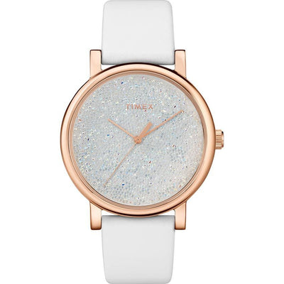 Timex T2R950 Women's Crystal Opulence With Swarovski Crystals Watch