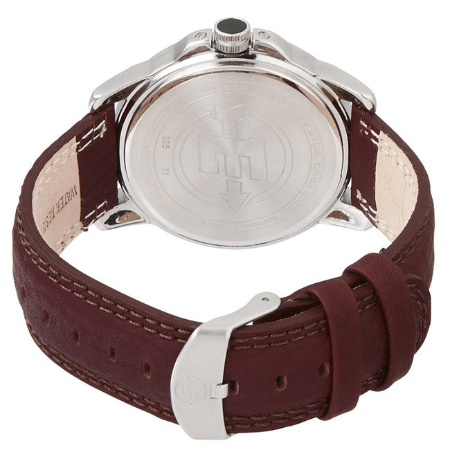 35ac7abbb Timex T44921 Men's Expedition Metal Field Brown Leather Strap Watch ...