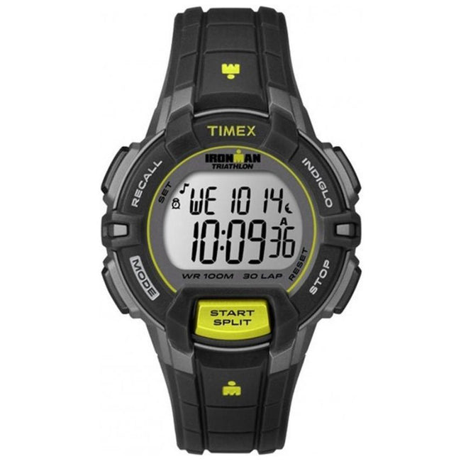 Timex T5K809 Men's Ironman Triathlon Digital Resin Strap Medium Size Watch