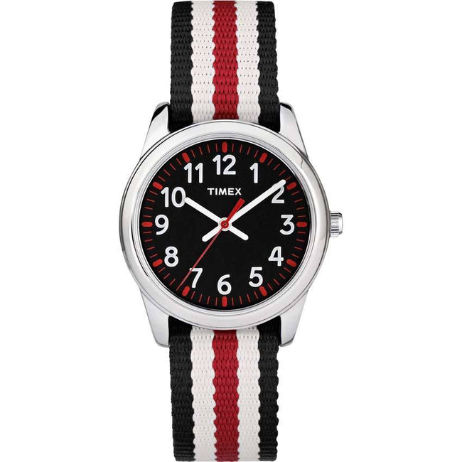 Timex TW7C10200 Unisex Youth Time Machine Multicolored Fabric/Nylon Small Size Watch