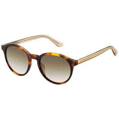 Tommy Hilfiger 1389/S Women Havana Beige Frame  Brown Lens Sunglasses