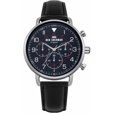 Ben Sherman WB068UB Men's Portobello Matte Navy Dial Medium Size Watch