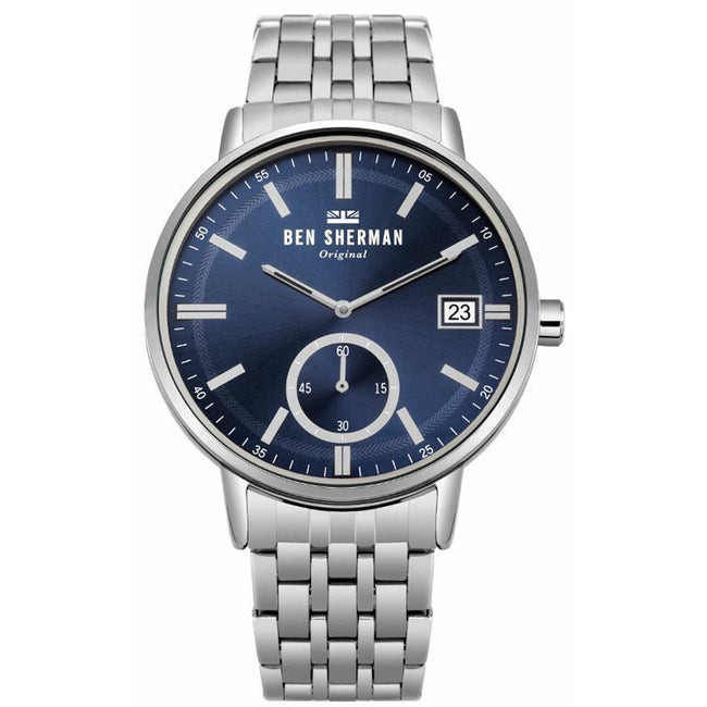 Ben Sherman WB071USM Men's Portobello Professional Blue Dial Medium Size Watch