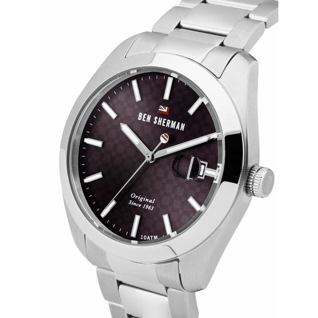 Ben Sherman WBS109TSM Men's The Ronnie Professional Stainless Steel Bracelet Watch