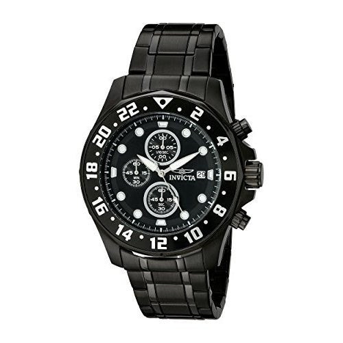 Invicta 15945 Men's Specialty Quartz Multifunction Black Dial Watch